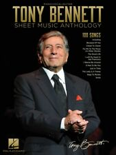Tony Bennett Sheet Music Anthology Piano Vocal Guitar Songbook NEW 000289023
