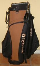 Classic TaylorMade Golf Bag with Rain Cover