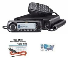 Icom ID-4100A VHF/UHF D-STAR Mobile Transceiver with RT Systems Programming Kit