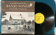GOOD OLD MOUNTAIN DEW BANJO SONGS~SOUTHERN MOUNTAINS~ORIG WASHINGTON LP~SHRINK