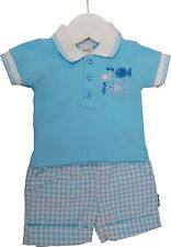 Gingham Checked Outfits & Sets (0-24 Months) for Boys