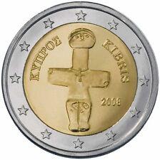 2 EURO CIPRO 2008 STATUA DI POMOS MOLTO RARA DA COLLEZIONE