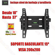 Soporte TV Pared Inclinable LCD LED PLASMA 19 20 22 24 26 27 28 29 30 32 36 37
