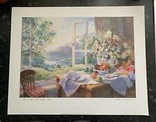 """Wild Flowers And Summer Wine"" by Stephen Darbishire Art Print 50.5cm x 40.5cm"
