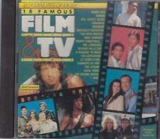 18 Famous Film Tracks & TV Themes Miami Vice, Rambo, Amadeus, Magnum.. [CD]