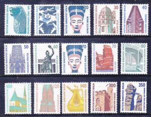 Germany Berlin 9N543-57 MNH OG 1987-90 Historic Sites & Objects Full Set