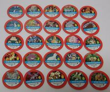 1999 Nintendo Pokemon Master Trainer Board Game REPLACEMENT PART 25 RED CHIPS