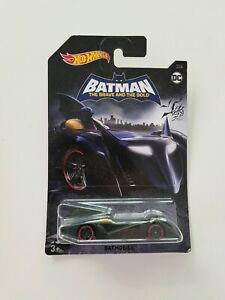 BNIP Batman The Brave And The Bold 3/6 Batmobile Hot Wheels DC Car 3+