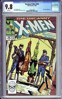 The Uncanny X-Men # 236 CGC 9.8 White Pages 1988 3724314005 Ms. Marvel App.
