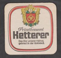 Alter Bierdeckel - Coaster , Privatbrauerei  KETTERER , Pforzheim / BW