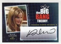 Katie Leclerc as EmilyThe Big Bang Theory Season 5 Autograph Card #A18