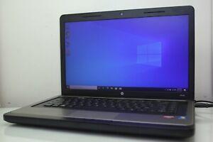 "HP 635 Notebook 15.6"" AMD E-350 8GB RAM 320GB HDD Radeon HD 6310 Windows 10 Pro"