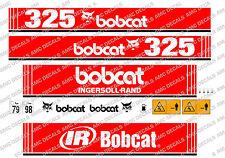 Bobcat 325 Mini Escavatore Yanmar Serie Decalco