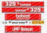 Bobcat 325 MINI EXCAVADORA SET DE ADHESIVOS