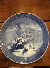 Vintage Royal Copenhagen 1967 The Royal Oak Collectors Plate Made In Denmark