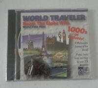 World Traveler Roam the Globe with World Vista Atlas 1000's of Pictures Windows
