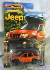 Jeep Grand Cherokee 1:58 Scale From The Jeep Anniversary Edition by Matchbox