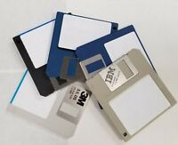 """5 PACK 720K DS/DD 3.5"""" FLOPPY DISKS.  MF2-DD.  RECYCLED.  GUARANTEED 100%"""
