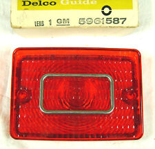 1969 Chevy Estate Wagon NOS Inner Tail Lamp Lens