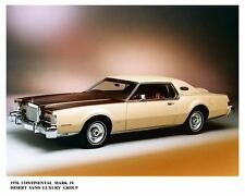 1976 Lincoln Continental Mark IV Automobile Photo Poster zae2536-65EFFG