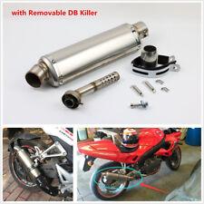 38-51mm Universal Motorcycle ATV Exhaust Muffler Pipe DB Killer Slip-on Exhaust