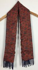Mens Paisley Pattern Scarf / Classic / Mod / Original / Smart / Casual