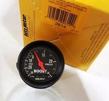 "Auto Meter 2614 Z-Series Mechanical 30 Psi Boost / Vacuum Gauge 2 1/16"""
