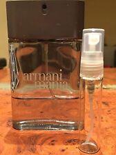 Giorgio Armani Mania® EDT For Men Cologne 5ml -0.17fl Oz decant Made In France