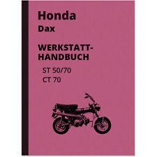 Honda Dax ST 50 70 CT 70 Reparaturanleitung Werkstatthandbuch Repair Manual ST70