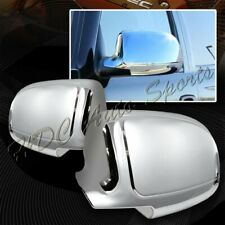 For 1999-2006 Chevy Silverado 1500 2500 3500 Chrome ABS Side Mirror Cover Cap