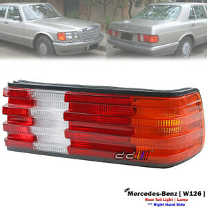 Rear Right Hand Side Tail Light Lamp For Mercedes-Benz W126 420SE 500SE 1979-91
