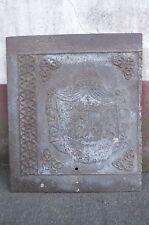 alte Ofenplatte Platte Eisen Eisenplatte Wappen Königreich Bayern