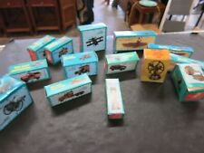 Lot of Vintage Antique Finished Die Cast Miniature Pencil Sharpeners