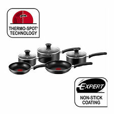 5 Piece Cookware Set Essential Tefal - Black