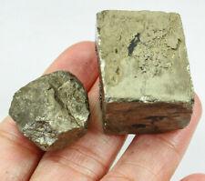 335Ct Natural Brazilian Pyrite Crystal Cube Facet Rough Specimen YYT33