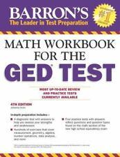 Math Workbook For The GED Test, 4th Edition Barron's Ged Math Workbook