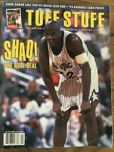 Tuff Stuff Trading Card Price Guide Magazine - April 1993 Shaquille O'Neal Cover