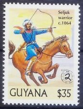 Guyana 2000 MNH, 1064 Seljuk Warrior conquer Armenia, War, Millennium - F62