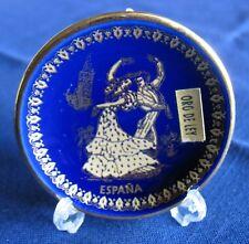 Espana Collectible Artesanias Casven Miniature Mini Plate Oro De Ley Gold Detail