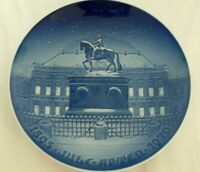 """Bing and Grondahl 1895 Jule After 1970 Christmas Plate Denmark 9"""""""