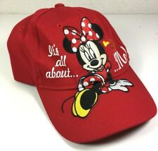 Minnie Mouse Disney Girl's Red Baseball Cap