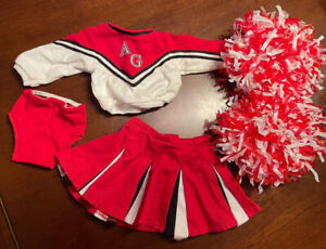 American GIrl Retired Cheerleading Outfit  MINT COND