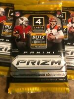 2020 Panini Prizm Football NFL Single Pack Brand New Factory Sealed Burrow TUA?
