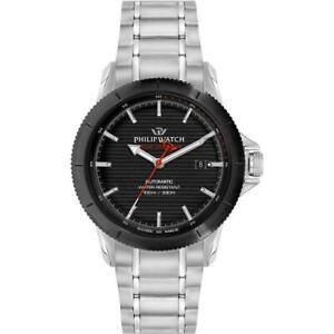 Orologio Automatico Uomo PHILIP WATCH GRAND REEF R8223214001 Acciaio SWISS MADE