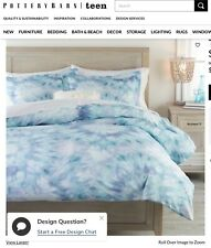 Pottery barn teen Tie dye duvet cover. Full/queen. Comes with 2 standard shams.