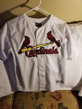 ST.LOUIS CARDINALS JERSEY - YOUTH LARGE - THROWBACK - MAJESTIC