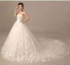 New Ivory/White wedding bridal gown dress custom size 6-8-10-12-14-16++++