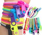 Zipper Bracelets Sensory Fidget Zip Stress Anxiety Relief Stim Toy Autism ADHD