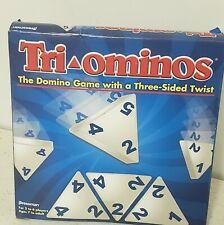 NEW 2011 TRI-OMINOS Games  Domino Game w/3 sided twist! NIB