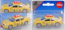 SIKU SUPER 1490 00002 Dodge Charger US-Taxi, jaune, New York// CITY et Skyline